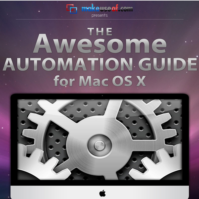 From Smart Folders to Automator: A Free Guide to Mac Automation