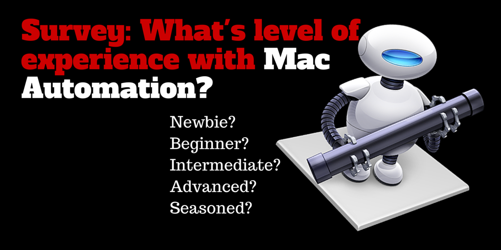 How Much Do You Use Mac Automation?