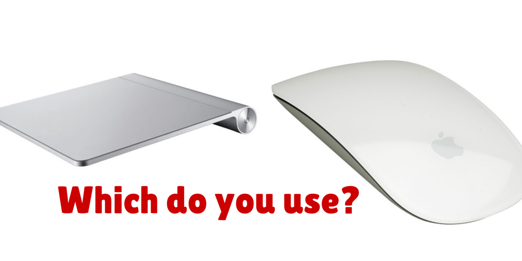 Trackpad or Mouse: Which Do You Use on Your Mac?