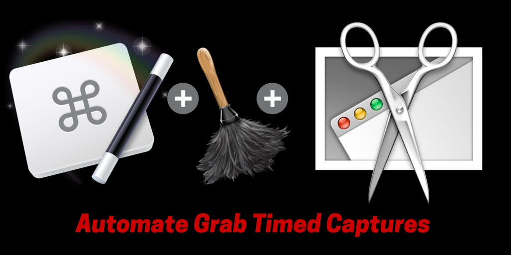 3 Automations for Using Grab Desktop Screen Captures