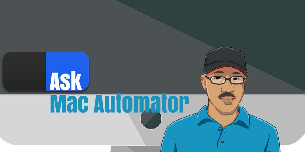 Ask Mac Automator: Alphabetizing a List of Items