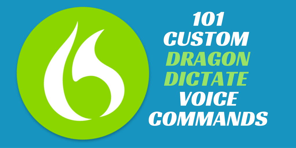 101 Dragon Dictate Voice Commands for Bossing Your Mac