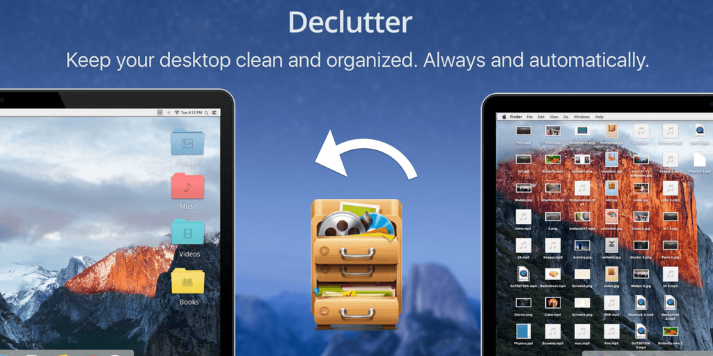 Automatically Manage Your Desktop and Files With Declutter