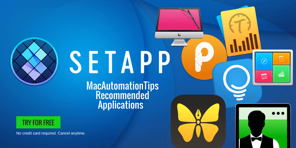 Get Access to 100+ Mac Applications Using Setapp