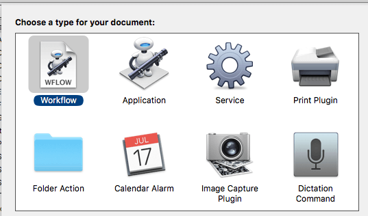 automator documents