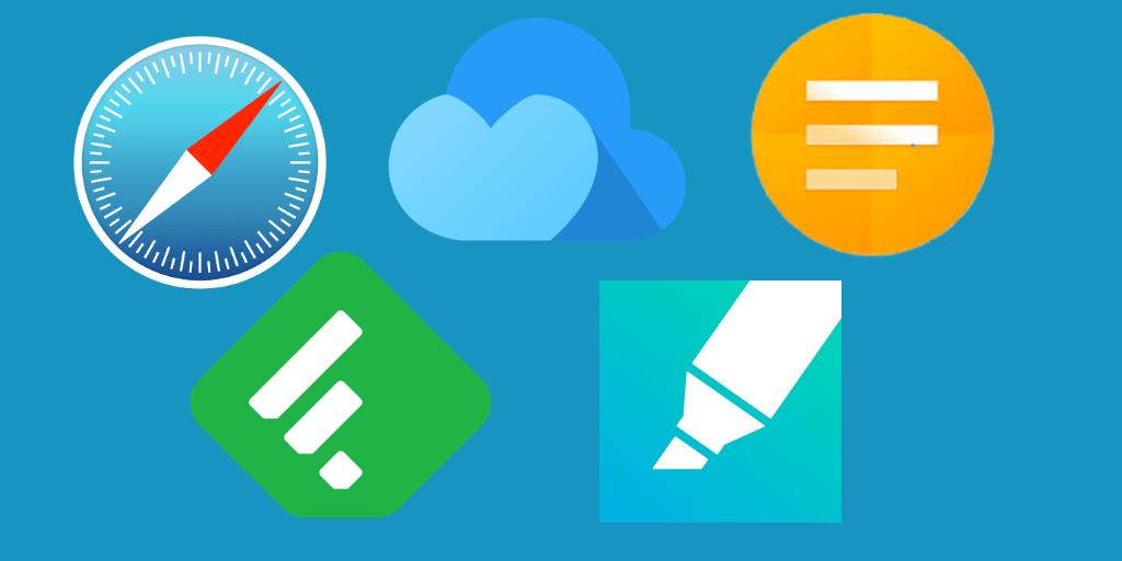 bookmarking apps